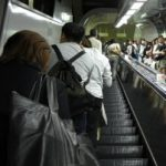 Escalators in Japan