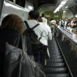 Escalators in Japan